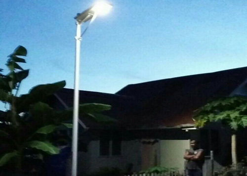 Lumière solaire led tawi-tawi