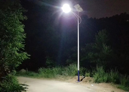 hitechled led lampadaire solaire